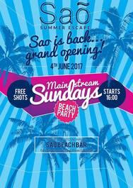 Grand Opening Mainstream Sundays at Sao