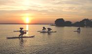 Sup Yoga - Το πιο τέλειο σπορ του καλοκαιριού στην πιο τέλεια παραλία της Αχαΐας!
