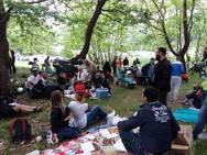Οι βεσπάκηδες ξεκίνησαν από την Πάτρα για πικ - νικ στην λίμνη Δόξα! (φωτο)