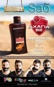 Alcatrash Live at Sao Beach Bar
