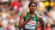 Νιγηριανή αθλήτρια έχασε την... περούκα της στο άλμα εις μήκος! (video)