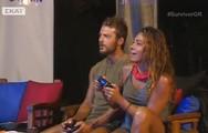 Survivor - Ντάνος & Ευρυδίκη έφαγαν, άκουσαν μουσική και έπαιξαν παιχνίδια σε virtual reality (video)