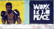 Πάτρα - Graffiti στον προαύλιο χώρο του σχολείου των φυλακών Αγίου Στεφάνου! (φωτο)