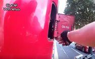 Η επική εκδίκηση ενός ποδηλάτη (video)
