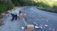 Η Κρήτη γέμισε με... χιλιάδες σοκολάτες (pics)