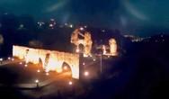 Πάτρα: Η αγριευτική ομορφιά του Ρωμαϊκού υδραγωγείου την νύχτα (video)