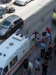 Πάτρα: Σοβαρό τροχαίο με τραυματία στην οδό Θεσσαλονίκης (pics)