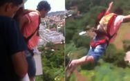 Βραζιλιάνος αγόρασε αλεξίπτωτο για να κάνει πτώση από το… μπαλκόνι του (video)
