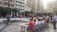 Ρουά ματ... στην κεντρική πλατεία της Πάτρας! (φωτο)