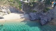 Δείτε από ψηλά την παραλία της Αττικής με τα 99 σκαλοπάτια (video)