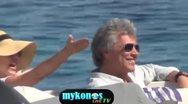 Ο Jon Bon Jovi στην Ψαρρού (video)