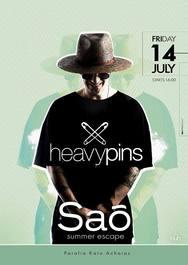 The Last Party Heavy Pins Bali Music at Sao