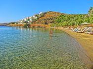Παραλία Γιαλισκάρι - Γαλαζοπράσινα νερά και χρυσή άμμος (video)
