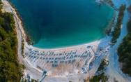 Η ολόλευκη εξωτική παραλία της Θάσου!