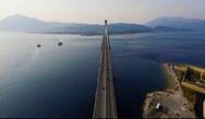 Το drone του Αλέξη Δαμασκόπουλου πάνω από την Γέφυρα Ρίου - Αντιρρίου (video)