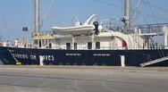 «Running on Waves»: Το εντυπωσιακό ιστιοφόρο που «έδεσε» στο λιμάνι της Πάτρας! (pics+video)