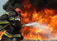 Αχαία - Πυρκαγιά σε Λιμνοχώρι και Πέτα