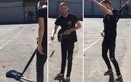 Πώς καταστρέφεις μία κιθάρα σε 5 δευτερόλεπτα; (video)