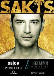 Σάκης Ρουβάς live at Nikki Beach Resort & Spa