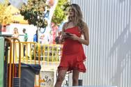 H 'γυναικάρα με τα κόκκινα' Ελισάβετ του Survivοr, αναστάτωσε την Πάτρα! (φωτο)