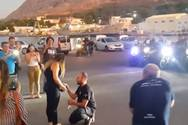 Πρόταση γάμου με... τέρμα τα γκάζια (video)