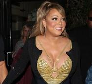 Έτοιμο να εκραγεί το μπούστο της Mariah Carey (φωτο)