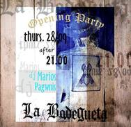Opening στο La Bodegueta