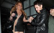 Η εμφάνιση της Mariah Carey με δερμάτινο και αποκαλυπτικό μίνι!
