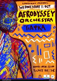 Afrodyssey Orchestra στη ΓΙΑΦΚΑ