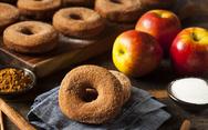 Φτιάξτε ντόνατς με μήλο