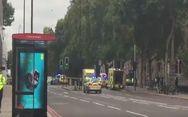 Αυτοκίνητο έπεσε πάνω σε πεζοδρόμιο στο Λονδίνο - Τραυματίστηκαν αρκετά άτομα
