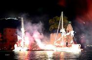 Σε ένα απόλυτα ρεαλιστικό σκηνικό έγινε η 446η αναπαράσταση από τη Ναυμαχία της Ναυπάκτου! (φωτο+video)