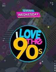 I Love the 90s at Disco Room