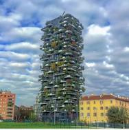 Εντυπωσιακοί πύργοι - δάση στο Μιλάνο (pics)