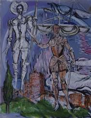 """Έριξε """"αυλαία"""" η έκθεση του Franco Murer """"Ο Θερβάντες στη Ναυμαχία της Ναυπάκτου"""""""