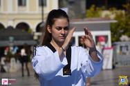 Επιδείξεις από τον Α.Σ. Λεών στην Πλατεία Γεωργίου 14-10-17 Part 1/2