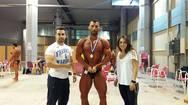 Συγκίνησε ο Αγρινιώτης bodybuilder που πήρε το χρυσό και το αφιέρωσε στον Φώτη Πλευρίτη (pics)