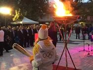 Αχαΐα: Με μεγάλες τιμές υποδέχθηκαν την Ολυμπιακή Φλόγα στα Καλάβρυτα (pics)