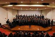 Πάτρα - Κατάμεστο το Συνεδριακό του Παν/μίου για τη διεθνή συναυλία χορωδιακής μουσικής!