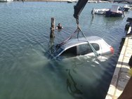 Χαλκίδα: Ζευγάρι βρέθηκε στη θάλασσα με το αυτοκίνητo του