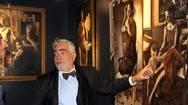 Αίγιο - Με λαμπρότητα τα εγκαίνια της έκθεσης ζωγραφικής του Νίκου Μουρίκη (φωτο)