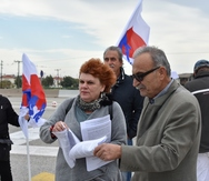 Πάτρα - Ο Δήμος συμμετείχε στη κινητοποίηση για την κατάργηση των διοδίων (φωτο)