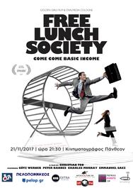 Προβολή Ταινίας 'Free Lunch Society' στο Πάνθεον