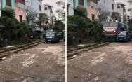 Οι ράγες του τρένου δεν είναι μια καλή θέση για να παρκάρεις (video)