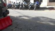 Πάτρα: Υπό «κατάληψη» η πλατεία Μαρκάτο από τα οχήματα της ΕΛ.ΑΣ. (pics)