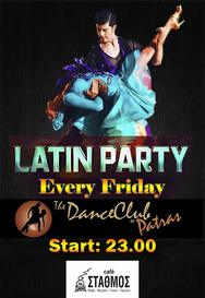 Latin Party By The Dance Club Patras at Cafe Stathmos