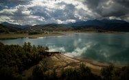 Η  λίμνη Πλαστήρα από ψηλά (φωτο)