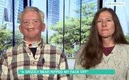 Καμία συμπάθεια από τον κόσμο για τον κυνηγό που έχασε τη μύτη του από αρκούδα (video)