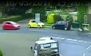 Αυτοκινητιστής κυνηγά και σκοτώνει μοτοσικλετιστή (video)