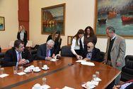 Μνημόνιο συνεργασίας του ΥΝΑΠ με το Πανεπιστήμιο Πειραιά υπέγραψε ο Παναγιώτης Κουρουμπλής